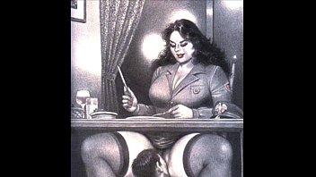 Грудастая мамаша разводит на секс студента и лобызает его болт
